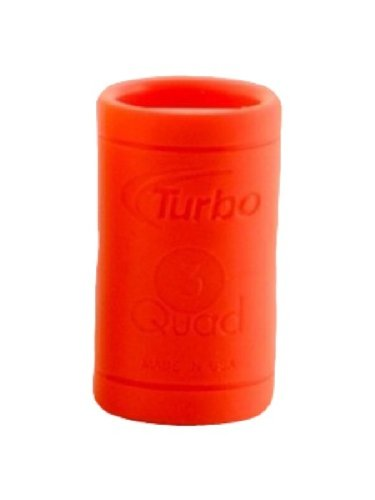 Turbo Grips Quad Classic Fingertip Grip (Bag of 10), Orange, 5/