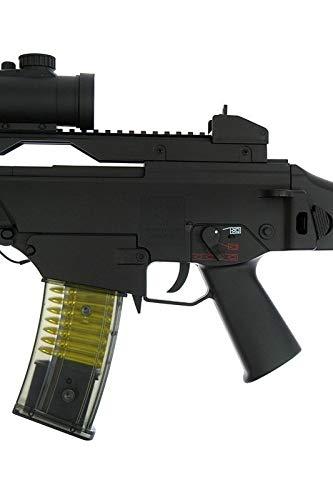 Double Eagle Airsoft-M85 Style G36c ABS/Couleur Noir/électrique (0.5 Joule)-Semi/Full Automatique-livré avec Accessoires 5