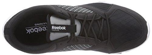 ReebokYourflex Train 7.0 - zapatillas deportivas hombre negro - Schwarz (Black/Flat Grey/White)