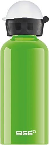 SIGG Kids Water Bottle KBT Kicker, 0.4 L (13 oz), Lightweight & Leakproof Metal Water Bottle, BPA-Free Sim
