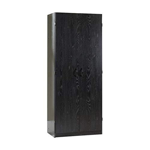 Sauder Storage Cabinet, Ebony As...