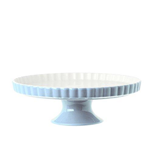 'PORCELLANA' Arezzo Cake Stand cm 23 Azure, Porcelain, 0.1 x 0.1 x 0.1 cm