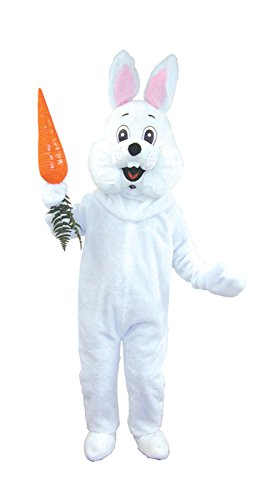 UHC Easter Bunny Rabbit Deluxe Mascot Funny Comical Theme Fancy Costume, OS ()