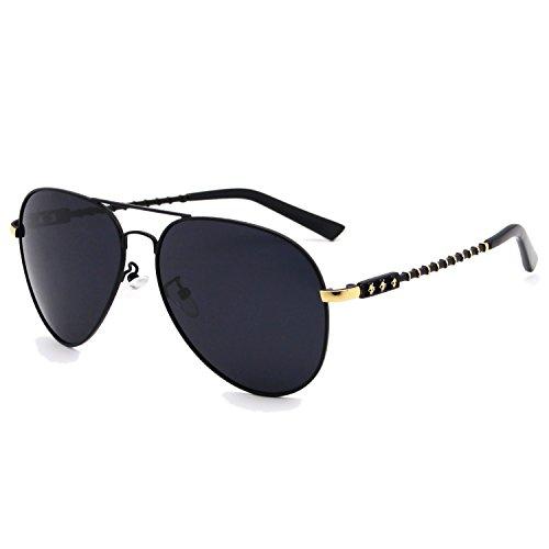 Skull Sunglasses Black Frames - 8