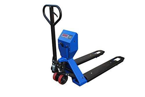 Hu-Lift Equipment HPW20J Scale Pallet Truck, 4400-Pound Capacity, 27-Inch x 48-Inch Fork by i-Lift Equipment