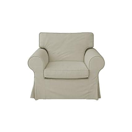 Amazoncom Mastersofcovers Ektorp Ikea Armchair 5 Color Cotton