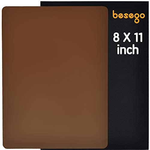 - Besego Leather Repair Patch, Leather Adhesive Patch for Sofas, Drivers Seat, Couch, Handbags, Jackets - 8× 11inch (Light Brown)