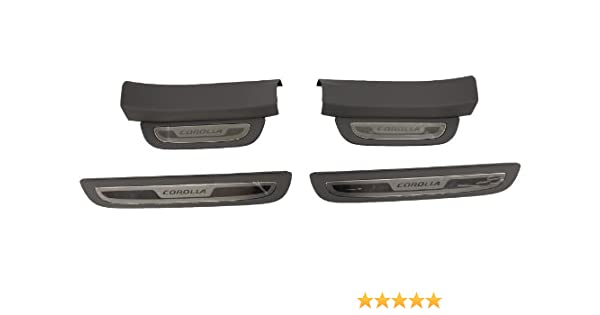 TOYOTA Genuine Accessories PT278-12111 Rear Bumper Protector for Select Corolla Models