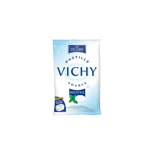 Pastilles de Vichy French Mint Candy 230 Grams (8.1 Oz)