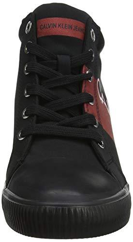 Red Film Baskets Noir Nylon Femme Roxanna metal Jeans 000 Calvin Hautes Klein metal black TqRZZ17