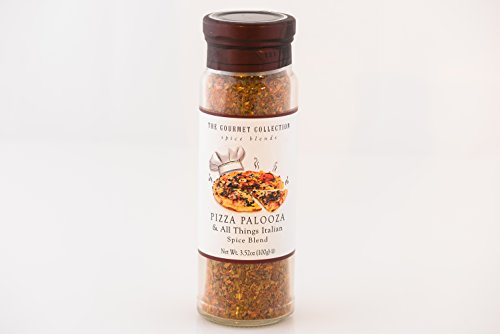 The Gourmet Collection Pizza Palooza & All Things Italian Spice Blend 3.5 Oz (100g)- Pack of 1