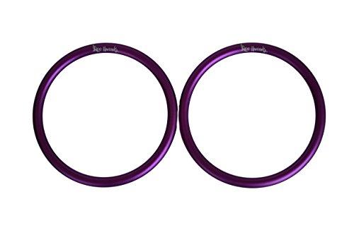 Roo Threads Aluminum Rings for Baby Slings, Purple