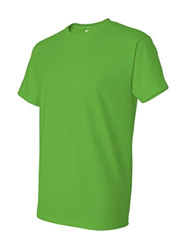 Gildan mens DryBlend 5.6 oz. 50/50 T-Shirt(G800)-ELECTRIC GREEN-XL (Gildan 50 50 Dryblend T Shirt 8000)