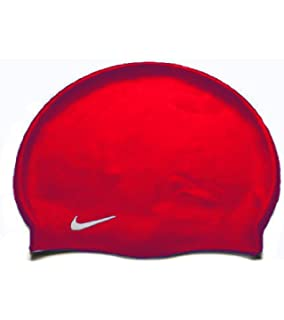 Nike Solid Silicone Swim Cap (One Size Fits Most)