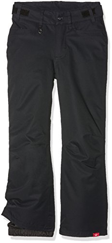 Roxy girls Roxy Girls Backyard Waterproof Breathable Insulated Ski Pants True Black 10 - Waist 24.5'' (62cm) by Roxy