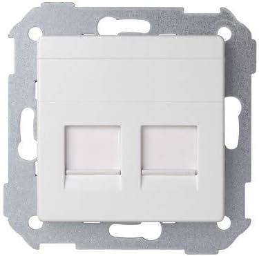 Panel de Vidrio de Cristal Blanco Toolmore Blanco Est/ándar de La Ue Enchufe de Potencia Ac 110~250V 16A Enchufe de Potencia de Pared
