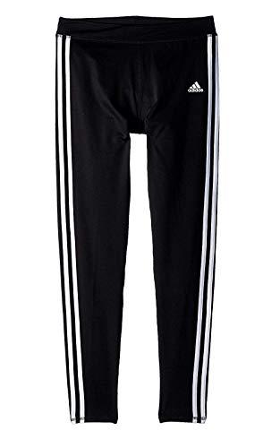 adidas Girls' Big Performance Tight Legging, Black Adi, Medium (Adidas Girls Sportbands)