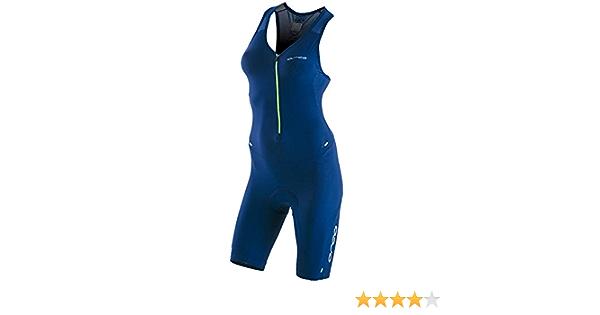New Orca 226 Kompress Womens Tri Race Suit Triathlon Black Pink WAS £132