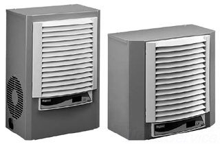 HOFFMAN M130116G1014 Side Mounting Air Conditioner, Steel...