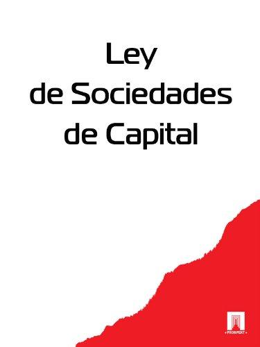 Descargar Libro Ley De Sociedades De Capital España