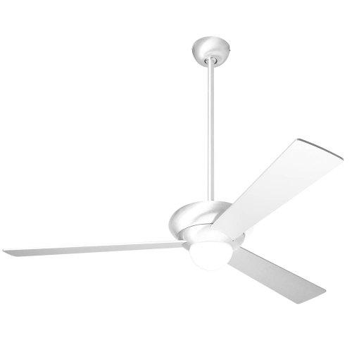 (Modern Fan ALT-GW-36-WH-270-003 Ceiling Fan with Opal Glass Shades, Gloss White Finish)
