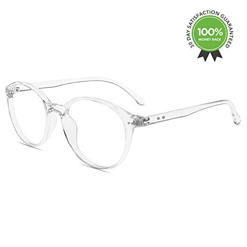 Blue Light Blocking Glasses,Vintage Nails Round Minimize Digital Headache Anti ()