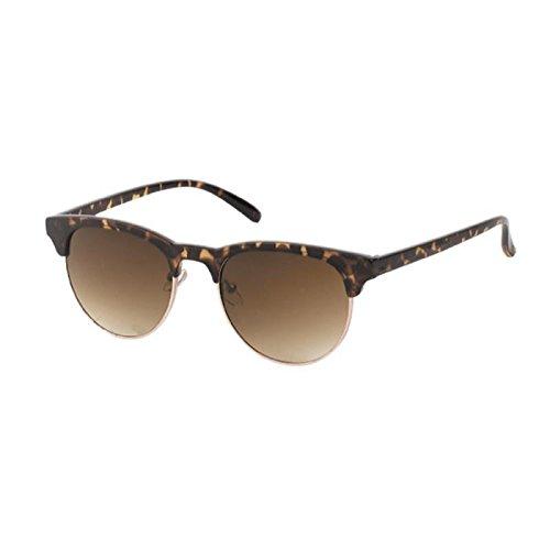 Gafas de sol Clubmaster 400 UV reflejada naranja metálica de ...