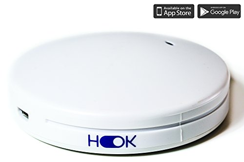 Hook - Smart Home Hub for Remote Control Outlets, Compatible with Alexa and Google Home (Generation 2 - - Outlet Ir