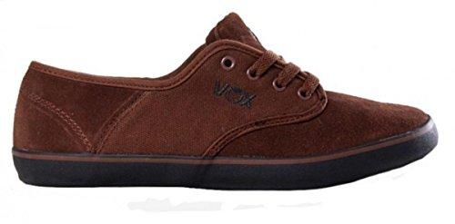 Vox Skate Shoes Parlor Brown Black Black
