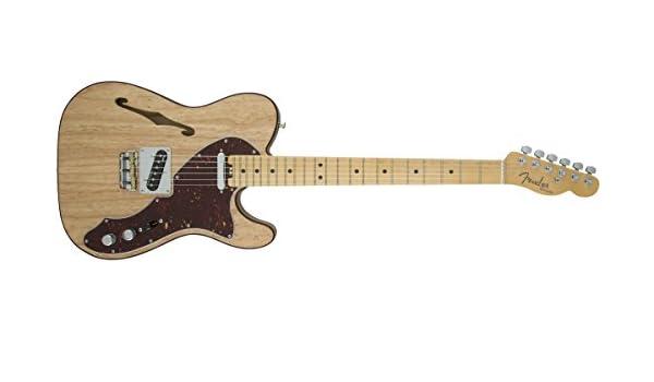 Fender 0114312700 American Elite Telecaster Thinline - Guitarra eléctrica para diapasón (madera de arce): Amazon.es: Instrumentos musicales