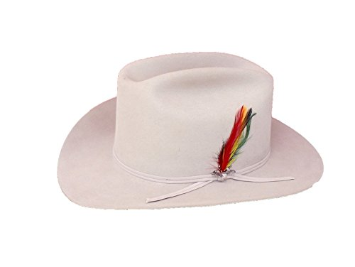 Stetson Men's Silverbelly Classic Collection Range 6X Felt Hat Silver 6 3/4