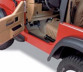 Door Sill Bestop - Bestop Door Sill for 2003 - 2004 Jeep Wrangler