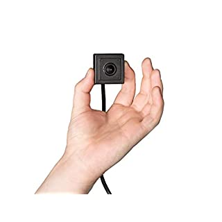 HDView Hidden Camera Mini Pinhole Spy Camera, 2.4MP 4-in-1 (TVI/AHD/CVI/960H), 3.7mm Pinhole Lens HD 1080P, Indoor, Hide Behind Wall