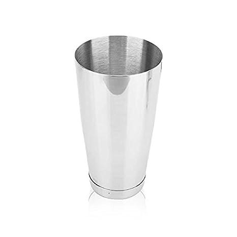 PomeLOL - Mezcla de acero inoxidable para batir leche, copa ...