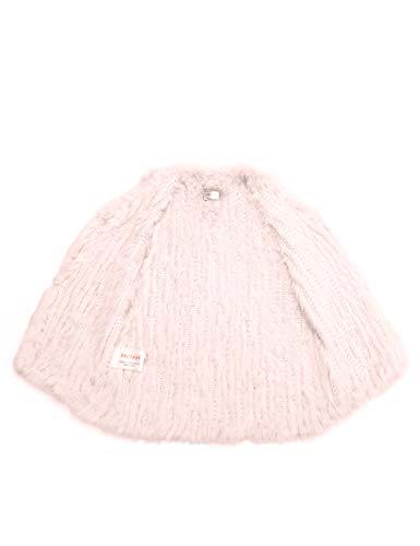 HEIZZI de 100 Rosa Perlas Conejo Chaleco el Punto de Color Piel de ZOxzwZqr