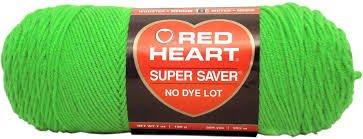 Red Heart Super Saver Yarn-Spring Green