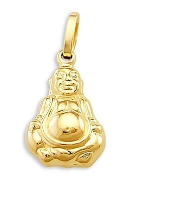 Amazon buddha pendant 14k yellow gold buddhist charm religious buddha pendant 14k yellow gold buddhist charm religious aloadofball Images