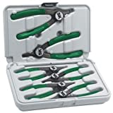 Cam-Lock Convertible Retaining Ring Plier Set - 6-Pc