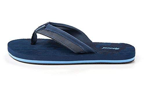 Just Speed Flip-Flops Sandals Eagle Cool Soft Slide On Summer Comfortable Light Casual Travel Vacation Sand Pool Indoors (2, Blue)