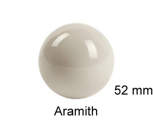 Snooker-Spielball ARAMITH 52 mm Spielball weiß. Winsport