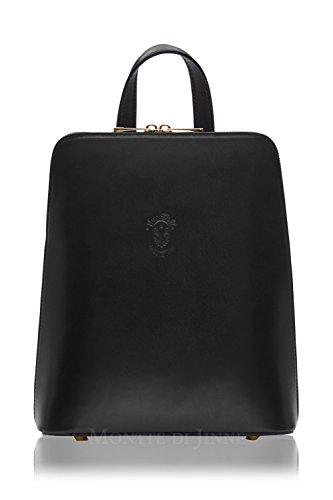 Jinne Structured Cuerpo Di Body Montte Damas Leather Backpack 100 Estructurado Black 100 Montte Mochila Cruz Di Italian Cuero Regalo Gift Italiano Jinne Negro Ladies Cross 5PwwTxqa