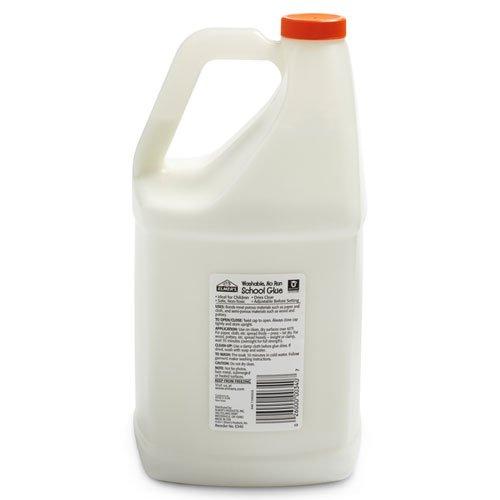 Elmers School VOvGz Glue, Washable, White, 5 Gallon (5 Pack) qxCOI
