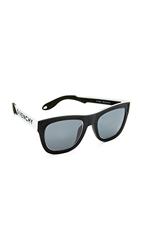 Givenchy Women's Square Sunglasses, Black White/Grey, One (Givenchy Black Sunglasses)