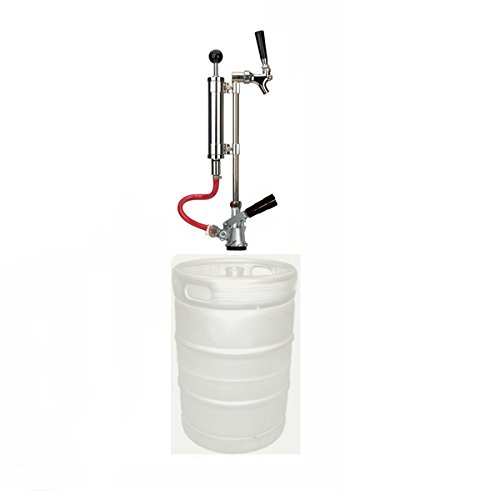 Premium Upright Beer Picnic Pump Assembly Keg Tap Convertor