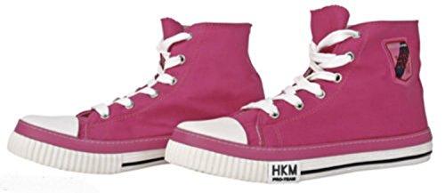 HKM PRO-TEAM Stoffschuh Grand Prix Farbe Pink Gr. 34
