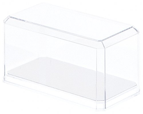 Clear Acrylic Display Case (With Mirror) For 1:64 Scale Cars - 3.5