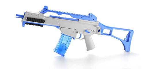 GEM Toys Airsoft Gun Semi/Fully Automatic Electric Air Rifle Gun, Electric Toys Gun with 1 Bottle 7mm Water Gel Balls, 50ft Impact Distance/100ft Max Range, Amazing Electronic Sound & Unique Action