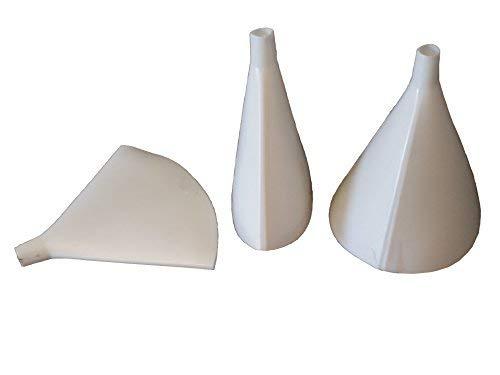 Flat Funnel - Plastic funnel that folds flat (Best Gloves For Methylene Chloride)