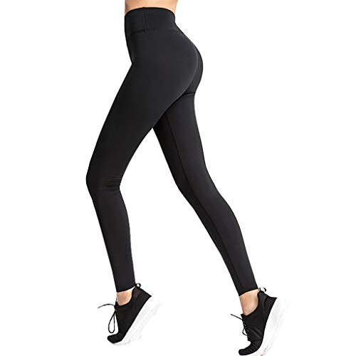 Mayunn 3PCs Women's Yoga Pants Workout Running Tights Leggings Baselayer Cool Dry Sports Tights Fitness Athletic Pants for Hip Lifting Tights