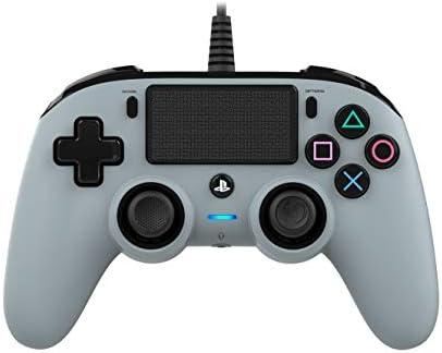 Nacon - Mando Compacto PS4, Color Gris